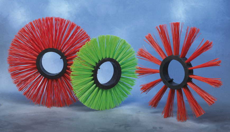 Central PP core ring brushes.