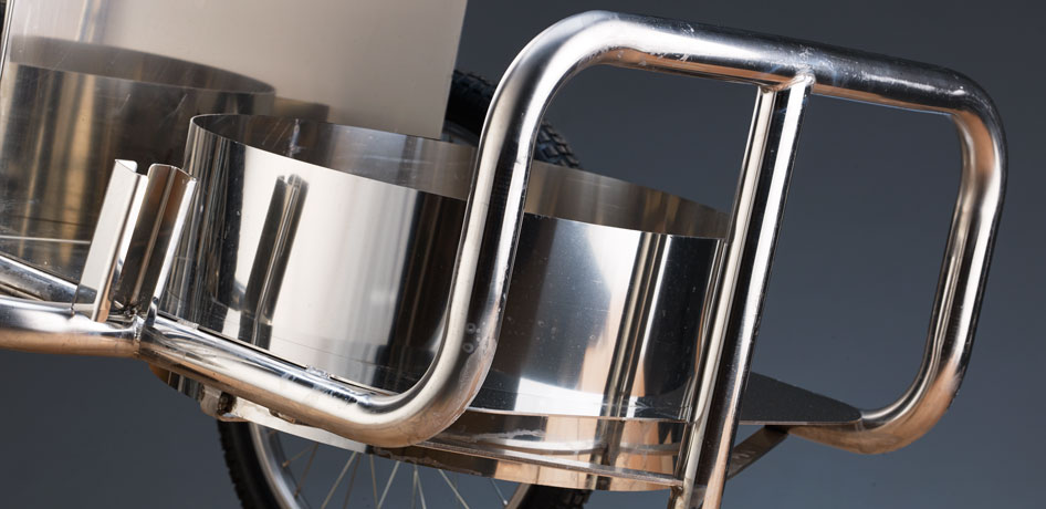stainless steel orderly barrows