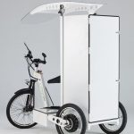 SB100 Electric tricycle, battery powered