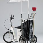 SB80 Electric tricycle, battery powered